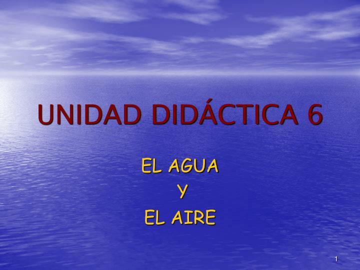 Unidad did ctica 6