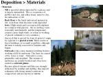 deposition materials