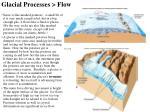 glacial processes flow