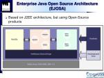 enterprise java open source architecture ejosa