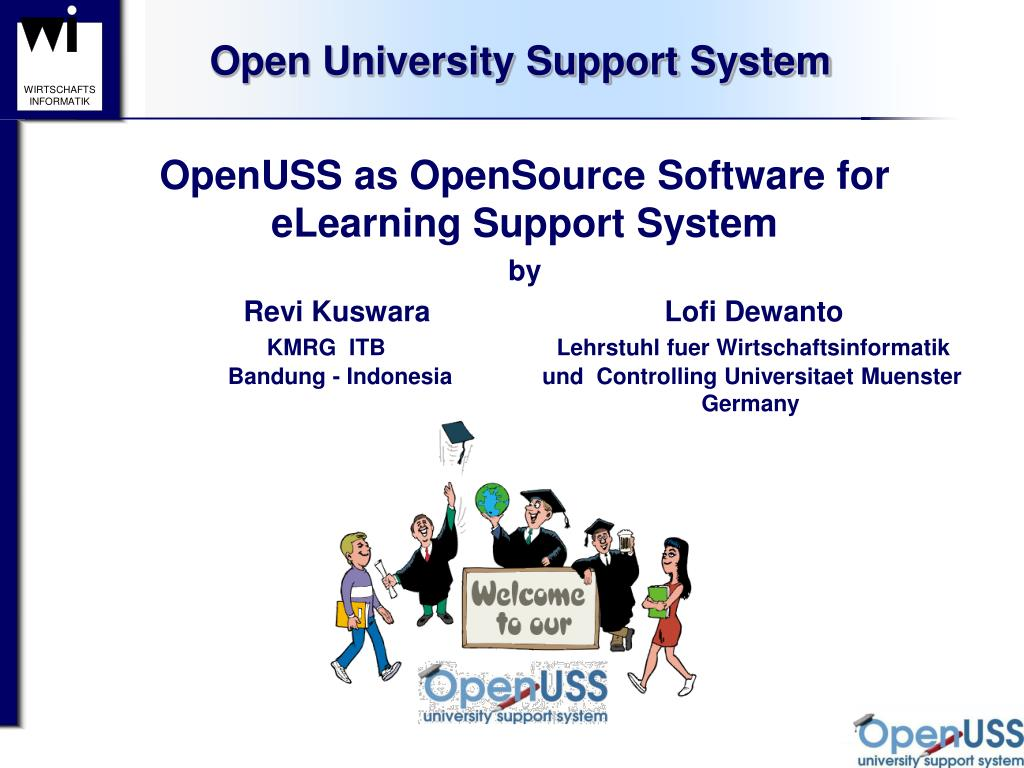 open university support system l.