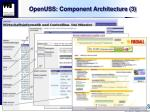 openuss component architecture 3
