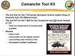 comanche tool kit