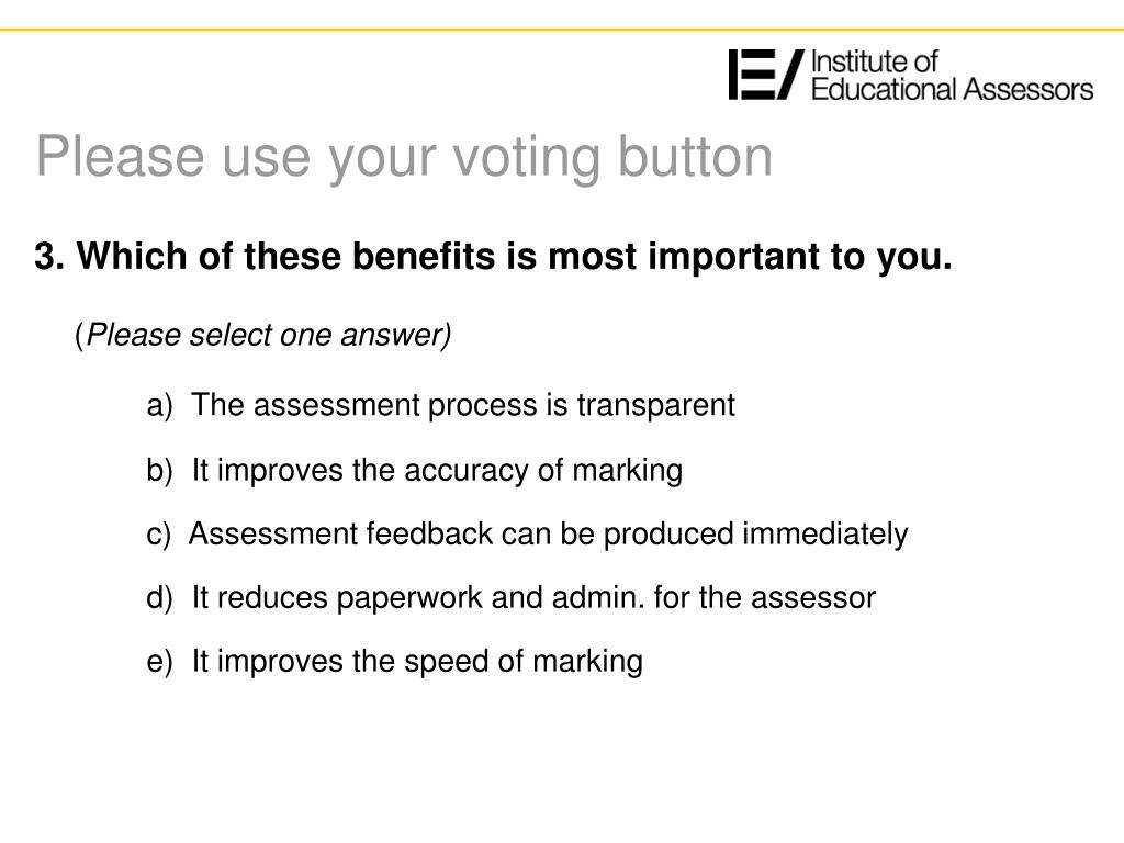 Please use your voting button
