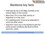 backbone key facts