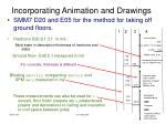 incorporating animation and drawings14