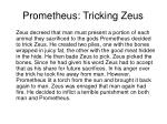 prometheus tricking zeus