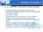 academic example 3