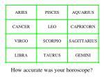 how accurate was your horoscope