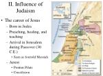 ii influence of judaism9