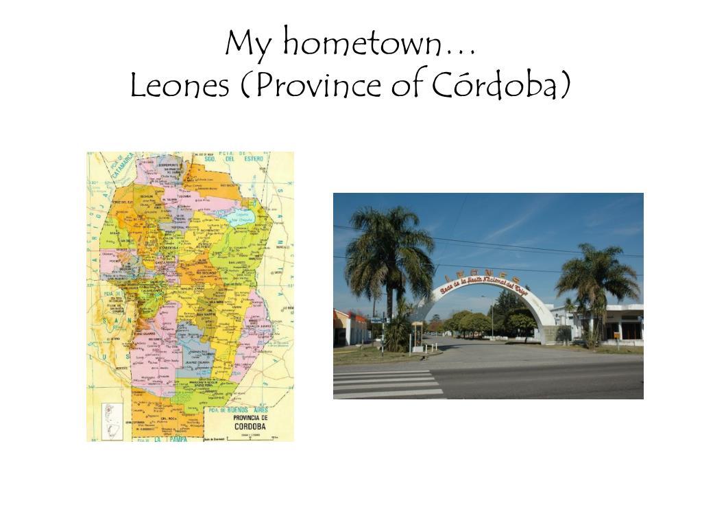 My hometown…