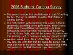 2006 bathurst caribou survey