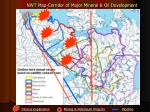 nwt map corridor of major mineral oil development