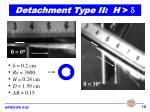 detachment type ii h