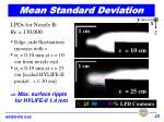 mean standard deviation