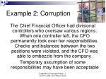 example 2 corruption
