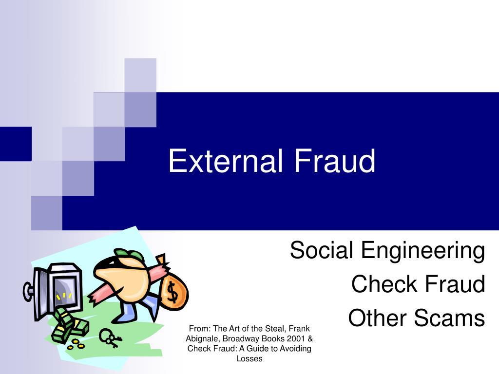 External Fraud