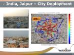 india jaipur city deployment