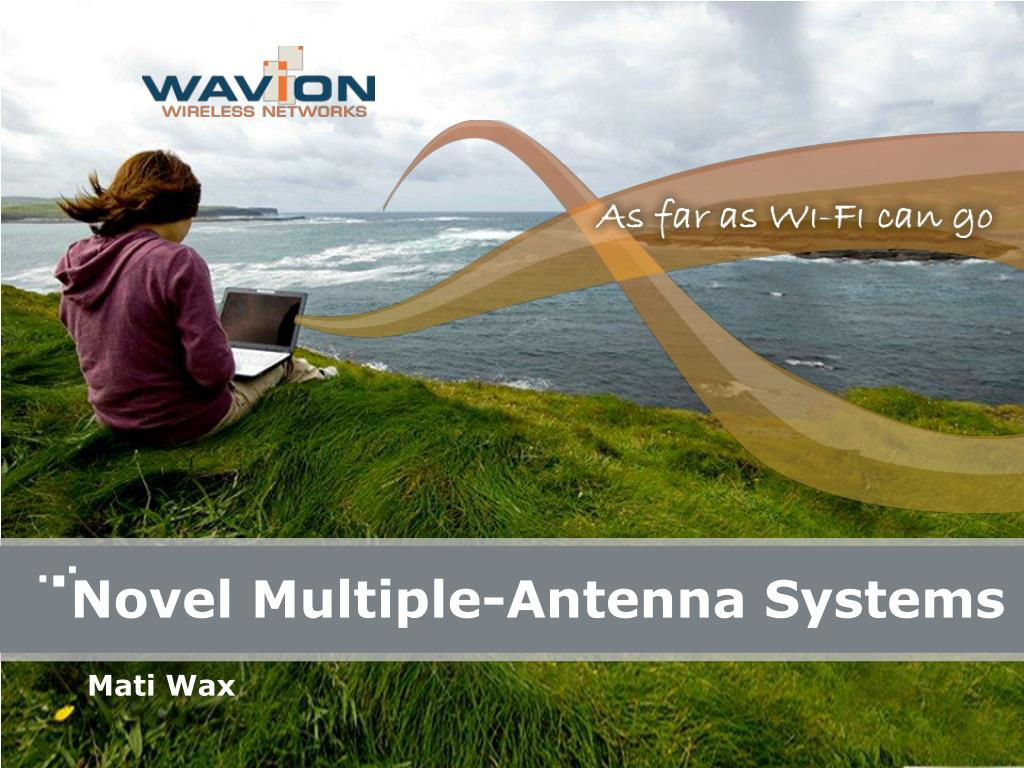 novel multiple antenna systems l.