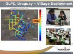 olpc uruguay village deployment