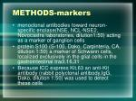 methods markers