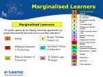 marginalised learners