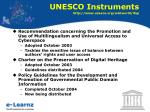 unesco instruments http www unesco org webworld ifap