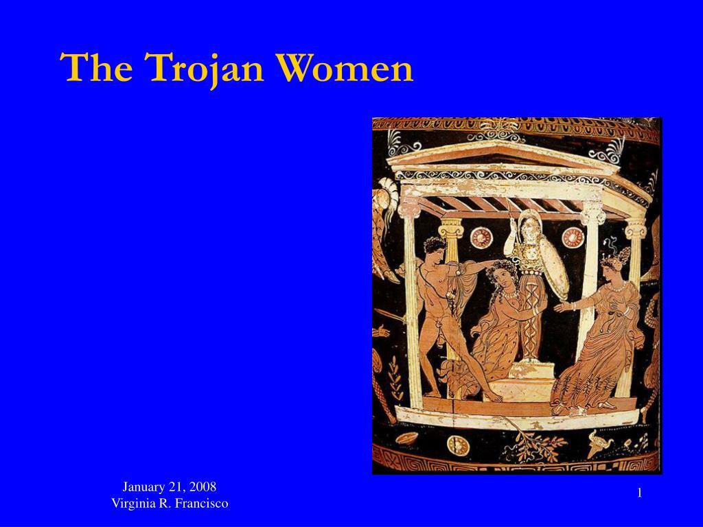 the trojan women l.