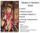 medea in modern myth