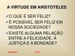 a virtude em arist teles