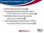harwood grant materials 1 of 7