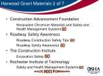 harwood grant materials 2 of 7
