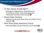 harwood grant materials 5 of 7
