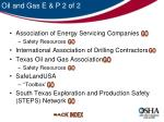 oil and gas e p 2 of 2