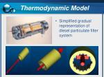 thermodynamic model