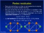 redes residuales