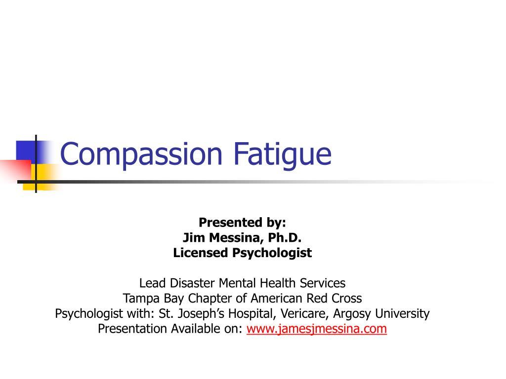 compassion fatigue l.
