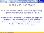 what is gsa our mission