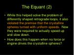 the equant 2