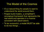 the model of the cosmos