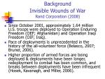 background invisible wounds of war rand corporation 2008