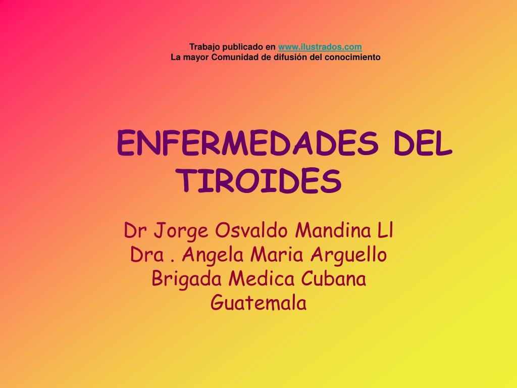 enfermedades del tiroides l.