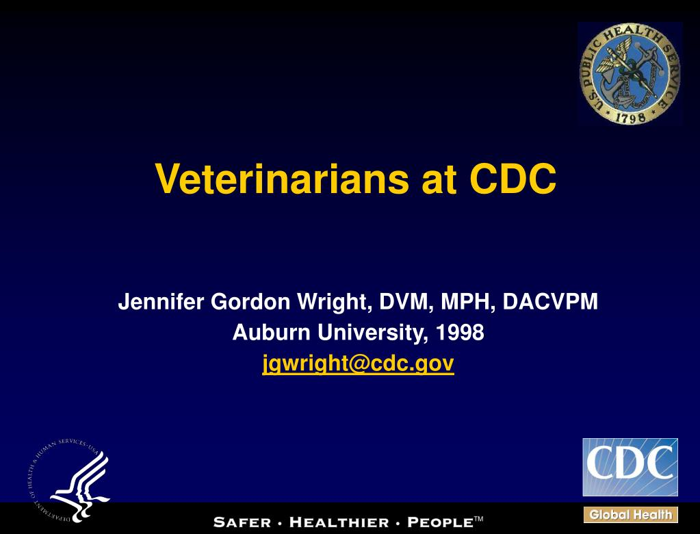 veterinarians at cdc l.