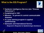what is the eis program