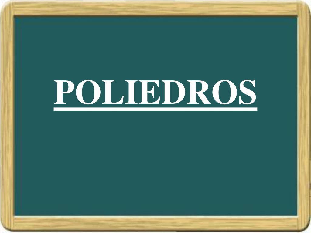 poliedros l.