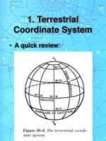 1 terrestrial coordinate system