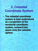 2 celestial coordinate system