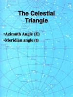 the celestial triangle16
