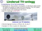 linderud tv anlegg