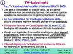 tv kabelnett
